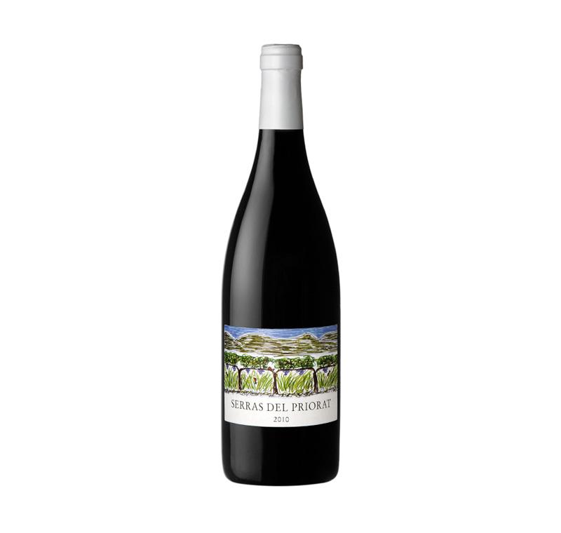 Rotwein Clos Figueras Serras del Priorat Casa de Vinos Krapf